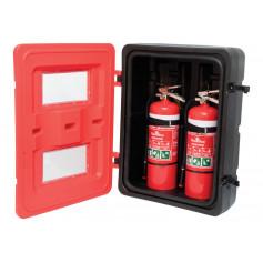 Plastic Twin Extinguisher Cabinet