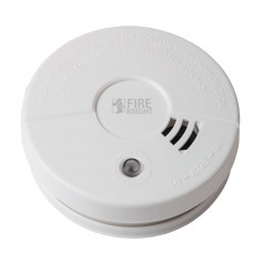 Photoelectric Smoke Alarm 9VDC Battery Stand Alone Operation