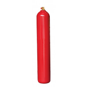 Important Notice Sign to go Near Gas Cylinder – Red Background
