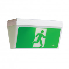 LED Ceiling Mount Exit & Emergency Light
