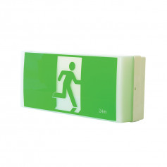 LED Wall Mount Exit & Emergency Light