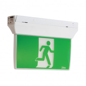 LED Exit & Emergency Light MULTI-FIT SLIMLINE