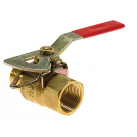 Fire Hose Reel Stop Valve - Male-Female 25mm
