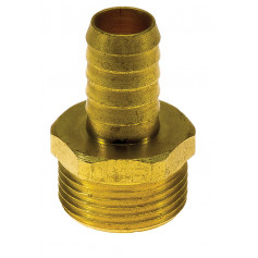 19mm Brass Hose Tail - Fits Large Power Jet