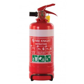 FIREKNIGHT 1.0KG ABE POWDER PORTABLE EXTINGUISHER