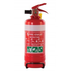 FIREKNIGHT 1.0kg ABE Powder Type Portable Fire Extinguisher
