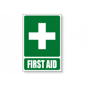 First Aid - Green Sign
