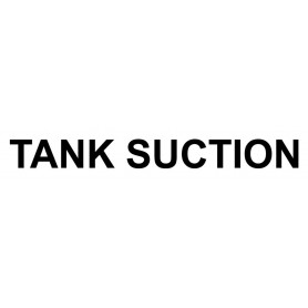 Vinyl Cut - Tank Suction