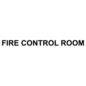 Vinyl Cut - Fire Control Room