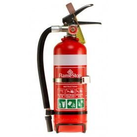 FLAMESTOP 1.5KG ABE POWDER PORTABLE EXTINGUISHER