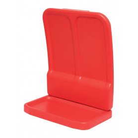 Large two piece floor stand – Red (2PC)