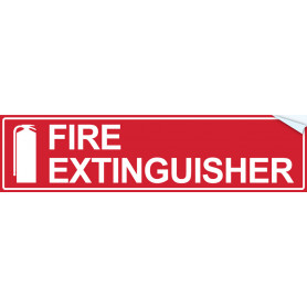 Fire Extinguisher (Text & Icon)