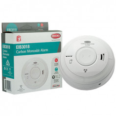 Carbon Monoxide 230-volt Alarm with 10-year lithium battery back-up