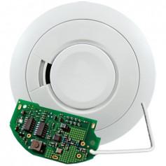 Photoelectric 9-volt Alkaline Battery Smoke Alarm with RadioLINK™
