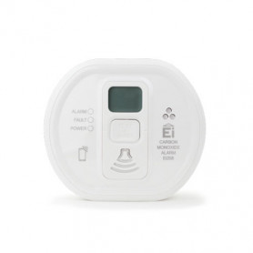 Carbon Monoxide Alarm with LCD display (10-year Lithium battery)
