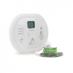 Carbon Monoxide Alarm with RadioLINK Module and LCD display (10-year Lithium battery)