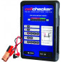BATTERY FUNCTION TESTER – Pulse load battery checker with plier type grips. Test 12V batteries up to 200AH