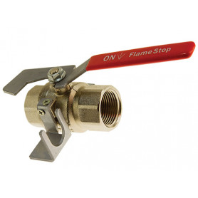 FlameStop Fire Hose Reel Stop Valve - Female/Female - 25mm