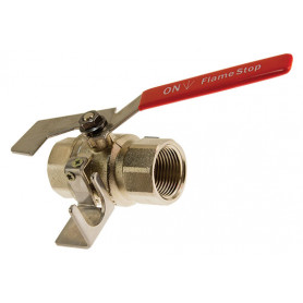 FlameStop Fire Hose Reel Stop Valve SS - Female/Female - 25mm