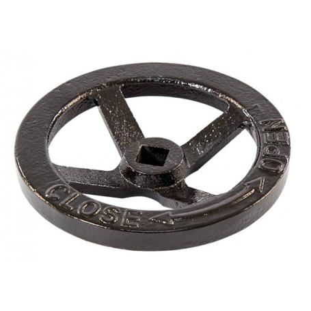 FlameStop Hydrant Hand Wheel - Black