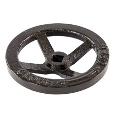 FlameStop Hydrant Hand Wheel - Black