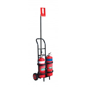 FlameStop Portable Extinguisher Trolley