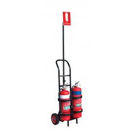 FlameStop Portable Extinguisher Trolley