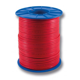 Flat Red Sheath Twin Cable - 1.5mm - 200m Roll