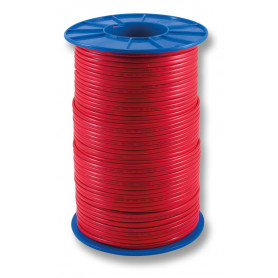 FLAT Red Twin Fire Cable - 1.5mm - 500m Roll