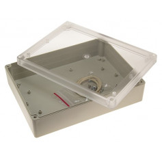 IP65 Sealed ABS Enclosure with Clear Lid