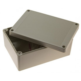 IP65 Sealed ABS Enclosure with Grey Lid