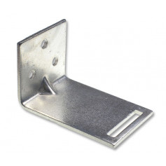 Large Slotted Galvanised Wall Bracket