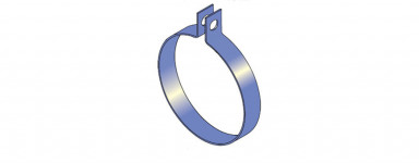 Wrap Around Pipe Clamps