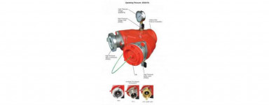Dual Hydrant Booster Roll Groove High Pressure