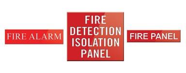 Fire Alarm Panel Signs