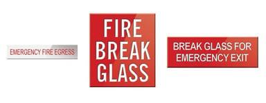 Fire Hose Reel & Fire Signs