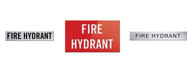 Hydrant Signs