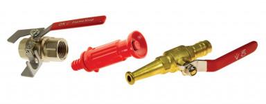 Fire Hose Reel Nozzles & Valves
