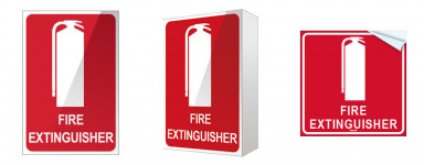 Extinguisher Location Signs