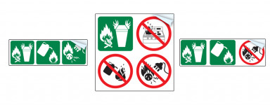 Extinguisher Pictographs
