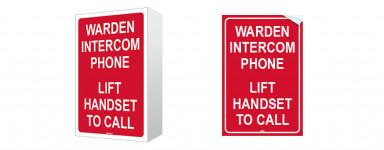 WIP Signs
