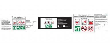 Portable Extinguisher Labels