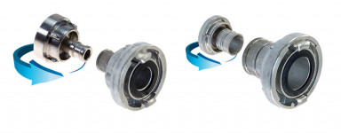 Storz Cast Aluminium Hydrant Couplings