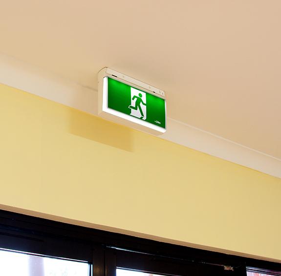 Emergency Exit Light MULTI-FIT INSITU Illuminated