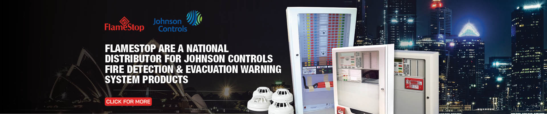 Johnson Controls Fire Detection & Evacuation Warning System Products